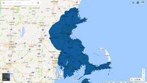 auto glass service map massachusetts