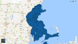 auto glass service map massachusetts